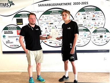 TMS Ringsted laver kontrakt med eget talent